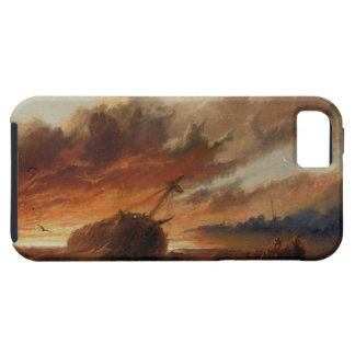 Shipwreck, c.1850 (oil on canvas) iPhone SE/5/5s case