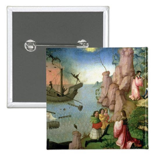 Shipwreck caused by Demons Pinback Button