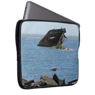 Shipwreck Computer Sleeve