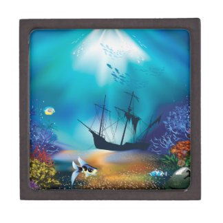 shipwreck gift box
