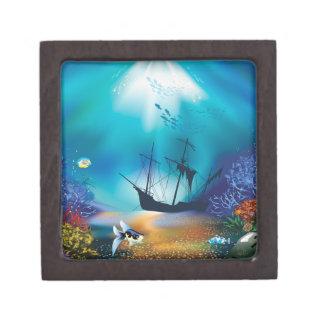 shipwreck keepsake box