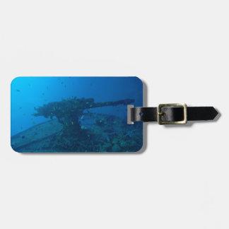 Shipwreck Luggage Tag