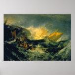 Shipwreck of the Minotaur Canvas Print
