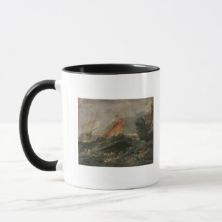 Shipwreck on a Rocky Shore, c.1645-50 Mug