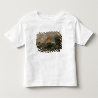 Shipwreck on a Rocky Shore, c.1645-50 Toddler T-shirt