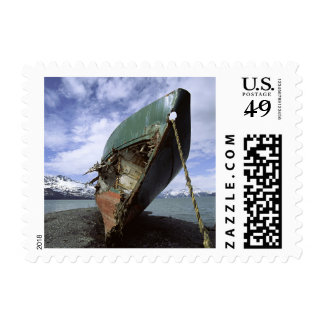 Shipwreck On Shore Postage