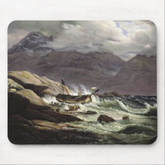 Shipwreck on the Norwegian Coast, 1831 Mouse Pad