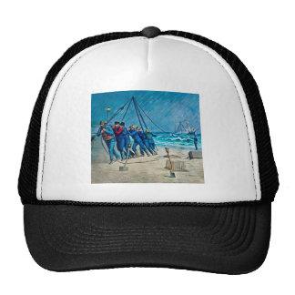 Shipwreck Rescue Squad Magic Lantern Slide Trucker Hat