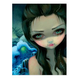"""""""Shipwreck Siren"""" Postcard"""