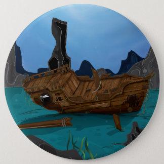Shipwreck underwater button