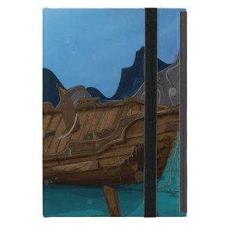 Shipwreck underwater iPad mini case