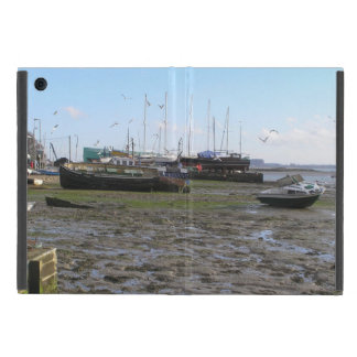 shipwrecked boats at low tide iPad mini case