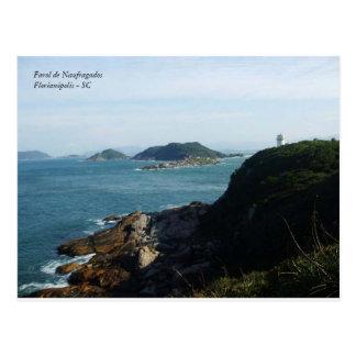 shipwrecked, Lighthouse of NaufragadosFlorianópoli Postcard