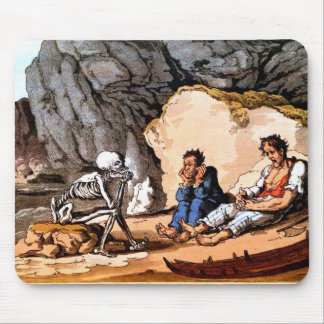 Shipwrecked Sailors and Death mousepad