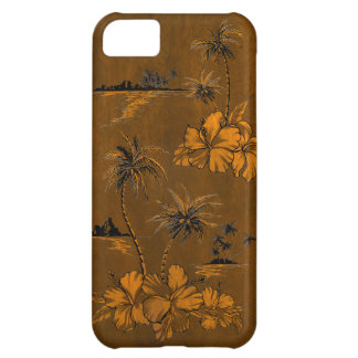 Shipwrecks Beach Hawaiian Faux Wood iPhone 5 Cases