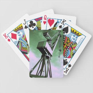 Shipyard Crane Playing Card Bicycle Playing Cards