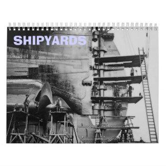 Shipyards Calendar