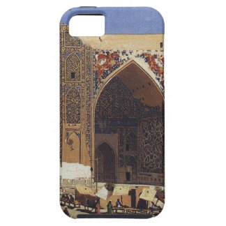 Shir Dor madrasah in Registan Square in Samarkand iPhone SE/5/5s Case