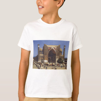 Shir Dor madrasah in Registan Square in Samarkand T-Shirt