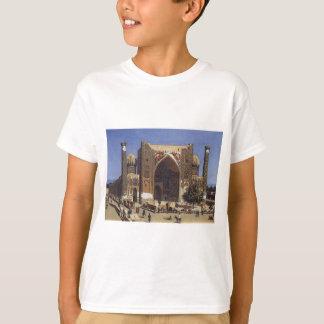 Shir Dor madrasah in Registan Square in Samarkand T-Shirt