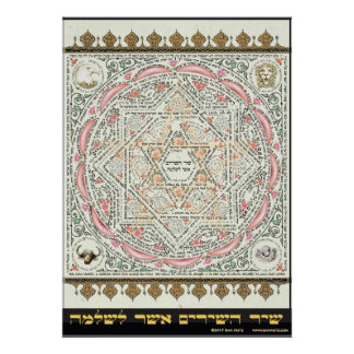 Shir ha Shirim ~ Tikkun Chava Poster, All Sizes Poster