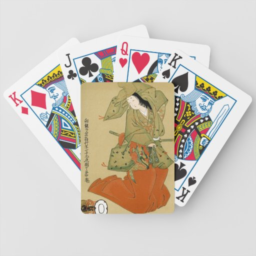 Shirabyoshi - arte japonés baraja de cartas