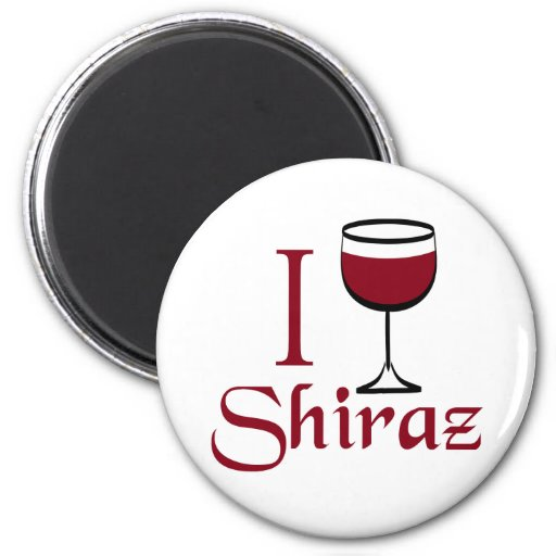 Shiraz Wine Lover Gifts Refrigerator Magnets