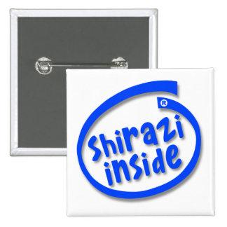 Shirazi Inside 2 Inch Square Button