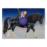 Shire Draft Horse Christmas Cards