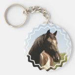 Shire Draft Horse Keychain