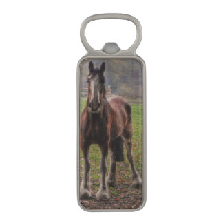 Shire Draught Horse for Draft Beer Drinkers Magnetic Bottle Opener