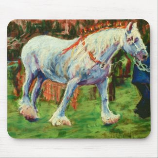 Shire Horse Mousepad mousepad