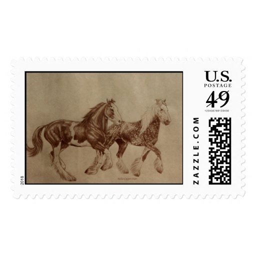 Shire Horse Postage
