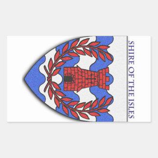 Shire of the Isles Rectangular Sticker