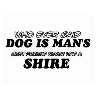 Shire pet designs postcard
