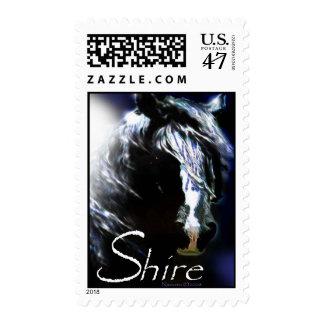 Shire stamp design.