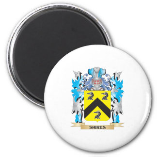Shires Coat of Arms - Family Crest Magnets
