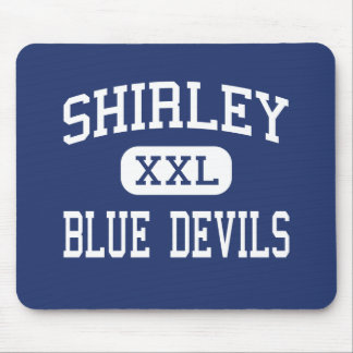 Shirley - Blue Devils - High - Shirley Arkansas Mouse Pad
