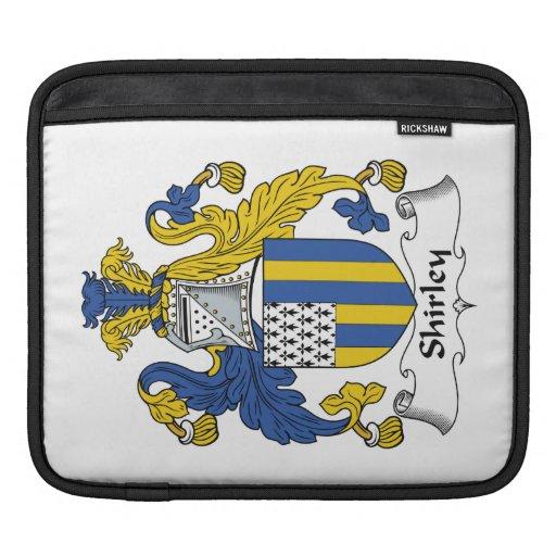 Shirley Family Crest iPad Sleeve