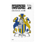 Shirley Family Crest Postage