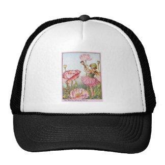 Shirley Poppy  Fairy Trucker Hat