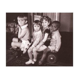 Shirley Temple and Gang.jpeg Canvas Prints