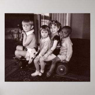 Shirley Temple and Gang.jpeg Poster