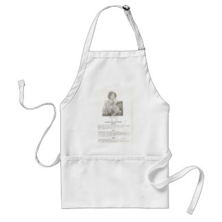 Shirley Temple Menus for Kids Adult Apron