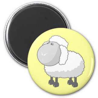 Shirley the Cute Cartoon Sheep Magnet