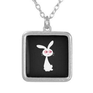 Shiro Bunny I Silver Plated Necklace