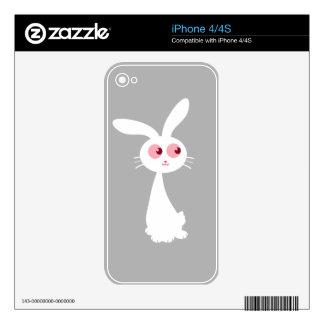 Shiro Bunny II iPhone 4S Decals