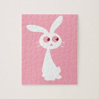 Shiro Bunny III Jigsaw Puzzle