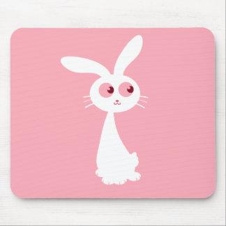 Shiro Bunny III Mouse Pad