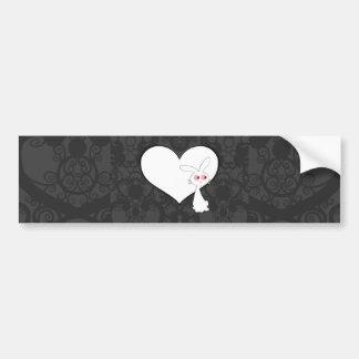 Shiro Bunny Love I Bumper Sticker